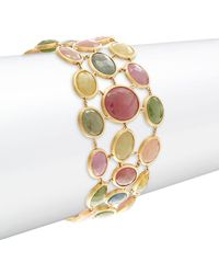 Marco Bicego - Mixed Sapphires & 18k Yellow Gold Bracelet - Lyst