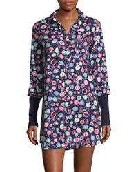 Jane And Bleecker - Plaid Cotton Shirt - Lyst
