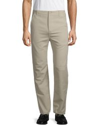 Balenciaga - Utility Slim-fit Cotton Pants - Lyst