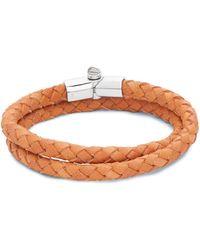 Miansai - Double-wrap Leather Bracelet - Lyst