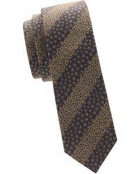 Valentino - Textured Star Tie - Lyst