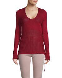 f921bf4aaa9f Love Scarlett Long Sleeve Turtleneck Sweater in Black - Lyst