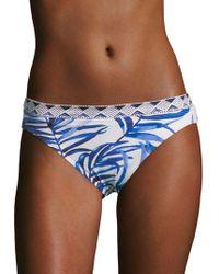 Tommy Bahama - Tropical Leaf Bikini Bottom - Lyst