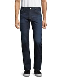 AG Jeans - Uni Slim-fit Straight Jeans - Lyst