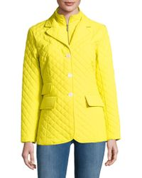 Jane Post - Quilted Riding Jacket - Lyst