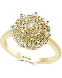 Effy - 14k Yellow Gold & Diamond Ring - Lyst