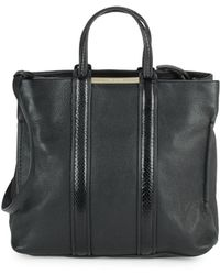 Stuart Weitzman - Uptownshopper Leather Tote - Lyst