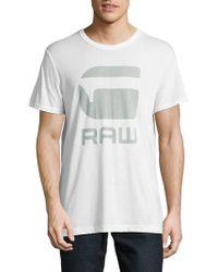 G-Star RAW - Crewneck Tee - Lyst
