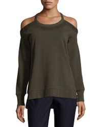 Joe's Jeans - French Terry Cotton Top - Lyst
