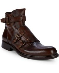 Jo Ghost - Buckle Strap Ankle Boots - Lyst