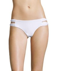 6 Shore Road By Pooja - Soho Double Ruched Straps Bikini Bottom - Lyst