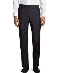 BOSS - Medium Wool Pants - Lyst