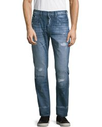 PRPS - Sandstorm Mid-rise Slim Straight Jeans - Lyst