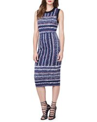RACHEL Rachel Roy - Jewelneck Sleeveless Bodycon-fit Dress - Lyst