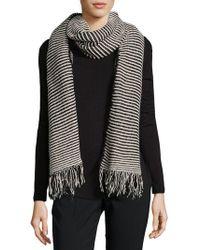 Donni Charm - Skinny Stripe Scarf - Lyst