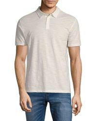 John Varvatos - Marled Polo Shirt - Lyst