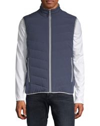Marc New York - Dover Down-filled Reversible Puffer Vest - Lyst