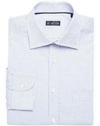 Breuer - Check Dress Shirt - Lyst