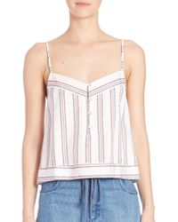 Elle Sasson - Dian Silk Printed Top - Lyst