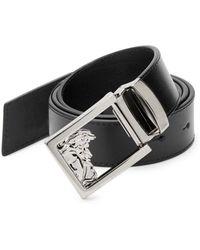 Versace - Versace Leather Belt - Lyst