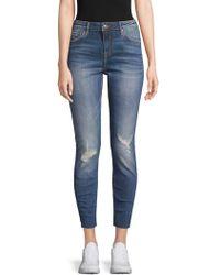 Vigoss - Marley Skinny Distressed Jeans - Lyst