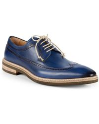 Mezlan - Maraval Leather Derbys - Lyst