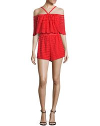 Alice McCALL - Diamond Dancer Heart Of Gold Playsuit - Lyst