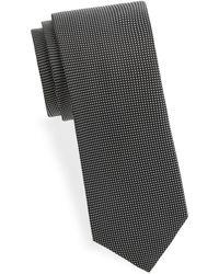 Eton of Sweden - Checkered Silk Tie - Lyst