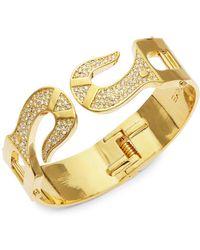 CC SKYE - Fish-hook Hinged Bracelet - Lyst