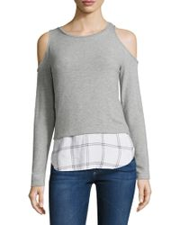 Generation Love - Camilla Plaid Layer Shirt - Lyst