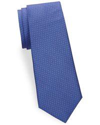 Saks Fifth Avenue - Large Print Silk Tie - Lyst