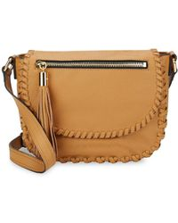 MILLY - Woven Leather Shoulder Bag - Lyst