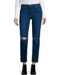 7 For All Mankind - Ripped Jeans - Lyst