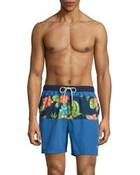 Tommy Bahama - Naples Trikala Stripe Swim Shorts - Lyst