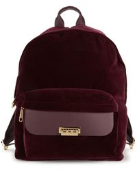 Zac Zac Posen - Eartha Classic Velvet Backpack - Lyst