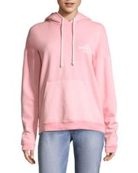 Peserico - Oversized Faded Melrose Place Hooded Sweatshirt - Lyst