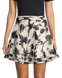Moon River - Printed Mini Skirt - Lyst