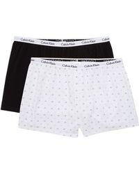 667bb87fff3 Calvin Klein - 2-pack Sleep Shorts - Lyst