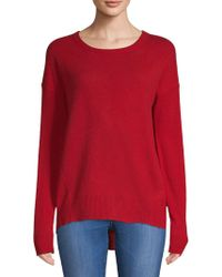 Zadig & Voltaire - Cici Star Patch Cashmere Sweater - Lyst