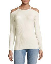 Trina Turk - Cold Shoulder Sweater - Lyst