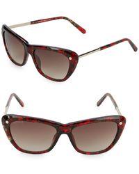 Balmain - 56mm Square Sunglasses - Lyst