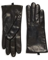 Saks Fifth Avenue - Leather Gloves - Lyst
