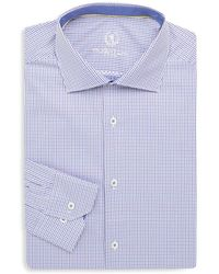 Bugatchi - Cotton Dress Shirt - Lyst