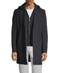 Saks Fifth Avenue - Classic Hooded Coat - Lyst