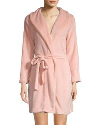 Juicy Couture - Belted Long-sleeve Robe - Lyst
