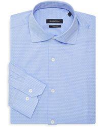 Bugatchi - Patterned Dress Shirt - Lyst