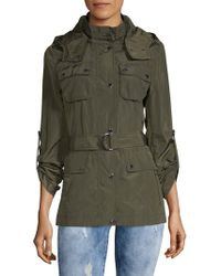 BCBGeneration - Classic Belted Anorak - Lyst