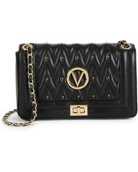 Valentino By Mario Valentino - Aliced Quilted Leather Crossbody Bag - Lyst