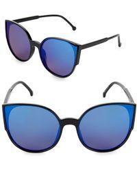 Fantaseyes - 60mm Cat Eye Sunglasses - Lyst