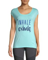 Gaiam - Dani Inhale Exhale Tee - Lyst